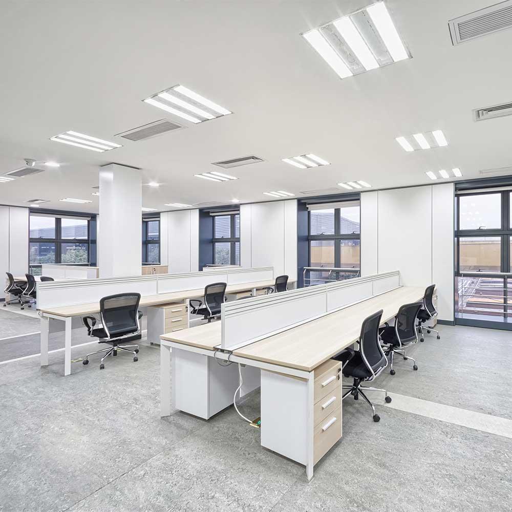 office lighting upgrade